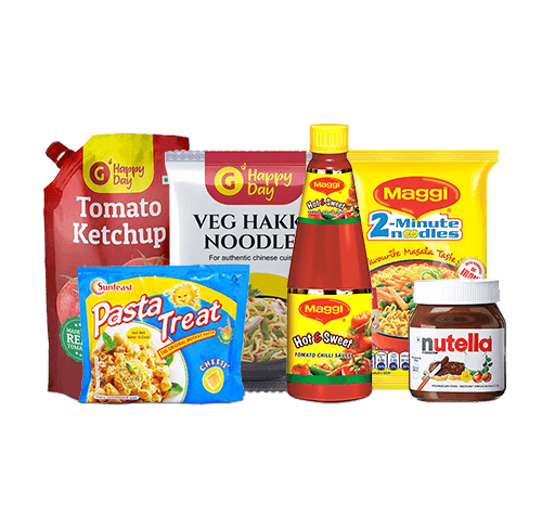 Noodles, Sauces & Instant Food